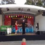 Tanzanleitung mit Bianca - der Salsakönigin von Cottbus - und Pelao