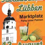 2011-08-13 karbiknacht Lübben Plakat