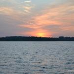 Sonnenuntergang am Bautzener Stausee