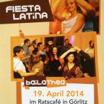 Fiesta Latina mit DJ Riccardo, 19.04.2014 im Ratscafé Görlitz