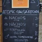 Salsa-Speisenauswahl