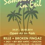 Sommer im Exil