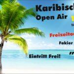 Karibische Nacht Open Air Flyer 13.06.2015