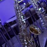 Eindrücke vor Konzertbeginn - Saxophon