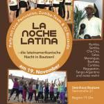 la noche latin steinhaus bautzen flyer November 2016