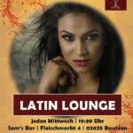 Latin Lounge jeden Mittwoch in Sam