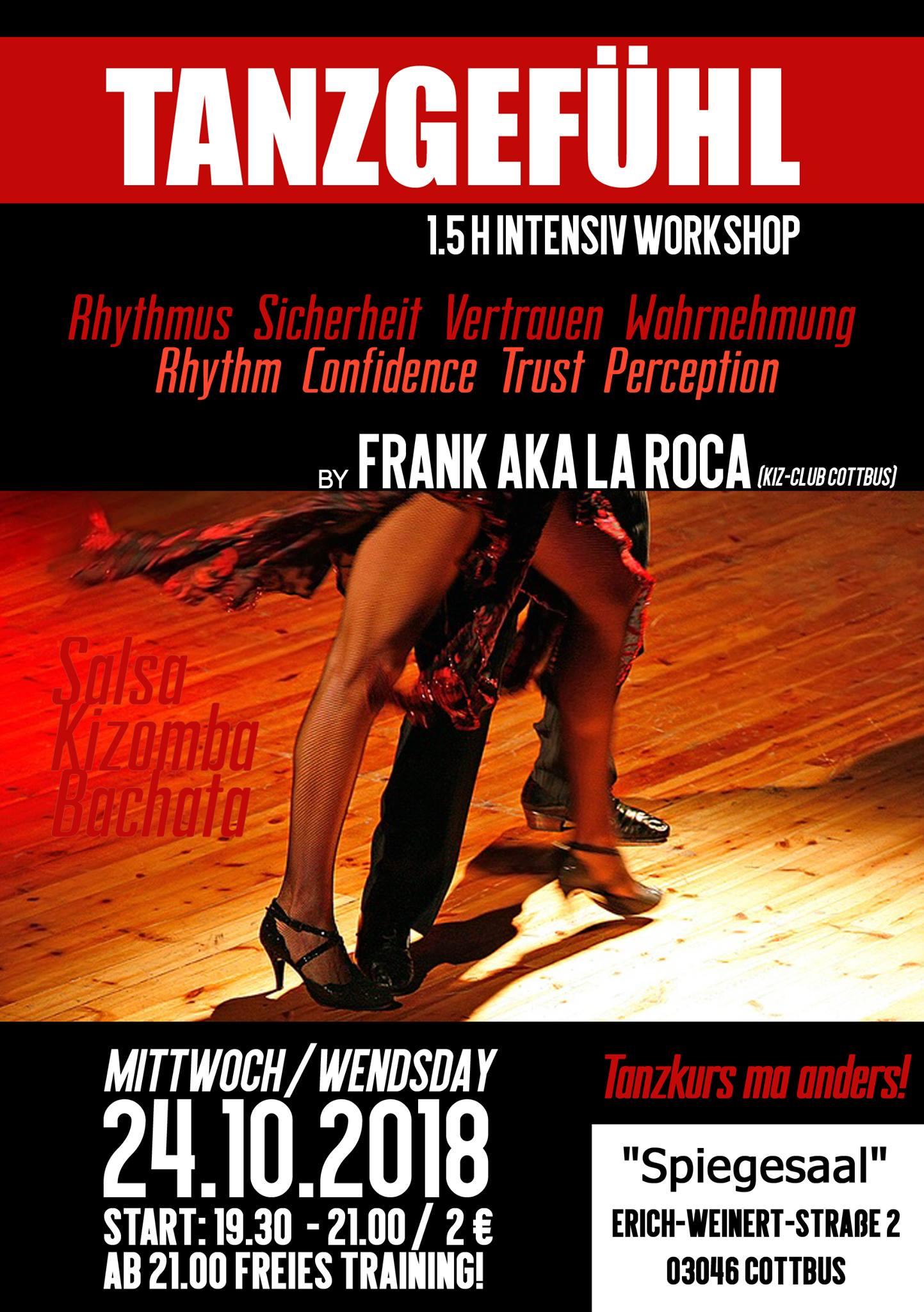 2018-10-24 Tanzgefühl Intensiv-Workshop Frank La Roca Cottbus